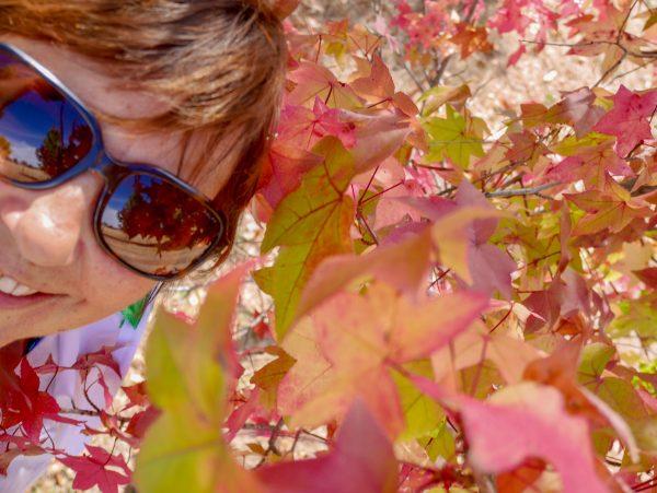 Self portrait in Autumn