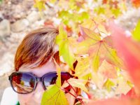 Autumn self portrait