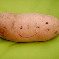 Why does this sweet potato make me smile?