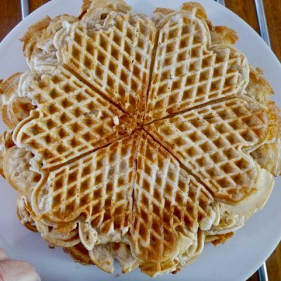 Waffles for lunch