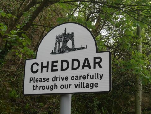 cheddar sign