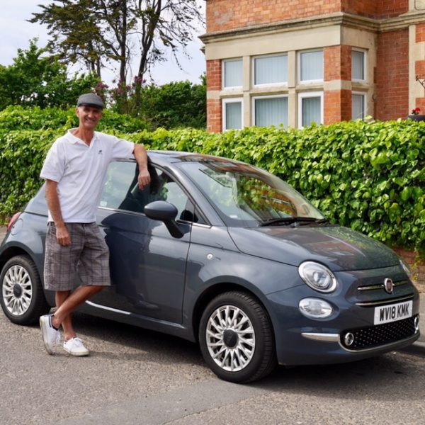 Looking good with the Fiat 500
