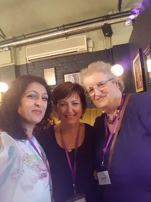 Blogging friends Ritu and Jemima