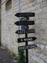 An interesting sign at HMP Shepton Mallet