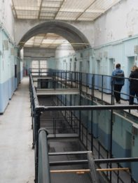 Inside the prison at Shepton Mallet