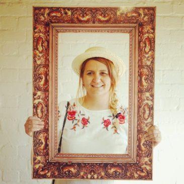 Melanie framed!