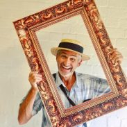 Portrait fun at Tyntesfield