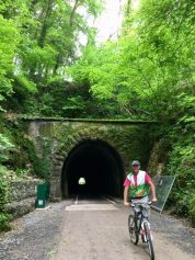 The tunnel on the Strawberry Line