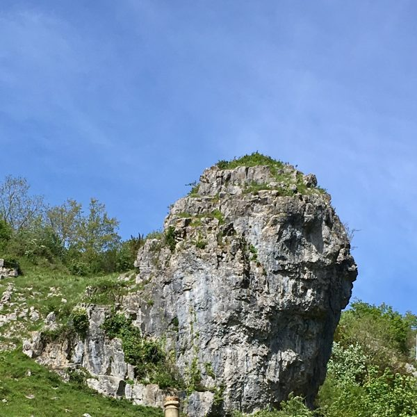 Lion rock in Cheddar Gorge