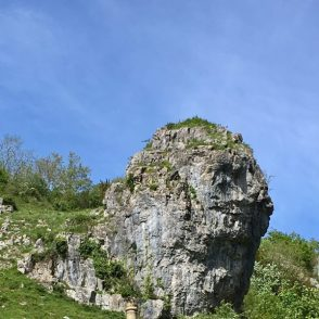 Lion rock in Cheddar Gorge