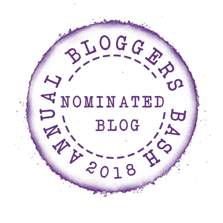 Nominated in Hidden Gem award for 2018 Bloggers Bash awards