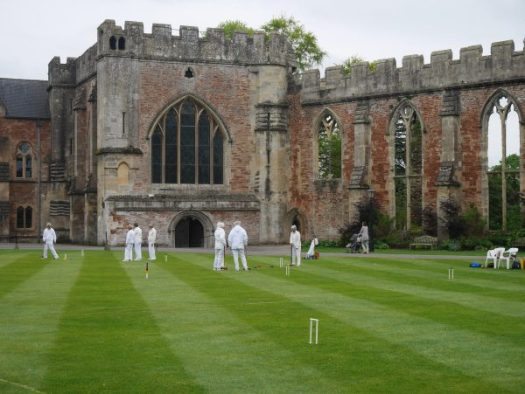 Croquet anyone - Bishop's Palace in Wells