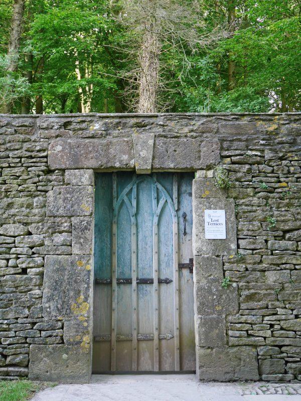 Blue Door to a Secret Garden