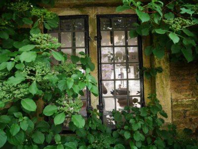A window at Dyrham Park
