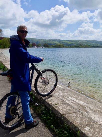 ride around the Cheddar reservoir