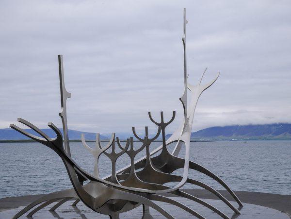 Viking boat in Reykjavik