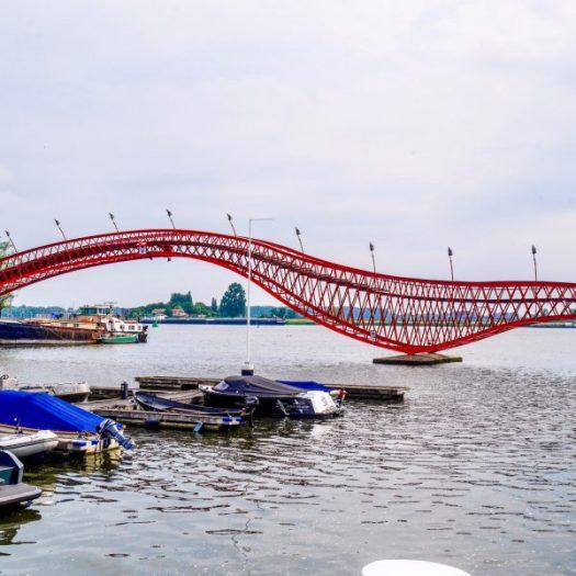 Lucile's Bridge In Amsterdam