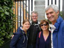 friends meet up in Copenhagen