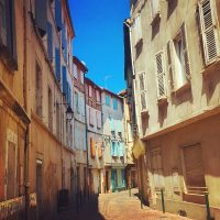 What's up this little street? - Travel Tuesday in France