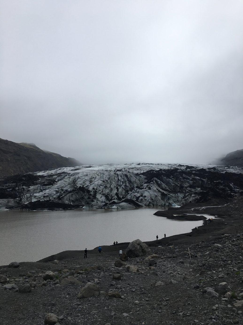 Glacier moodiness at Sólheimajökull Iceland