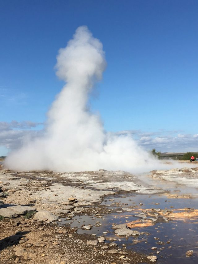 Geyser at Geysir Iceland
