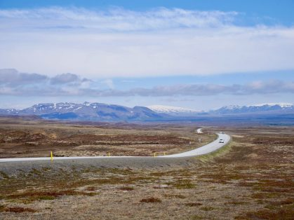 road trip in Iceland