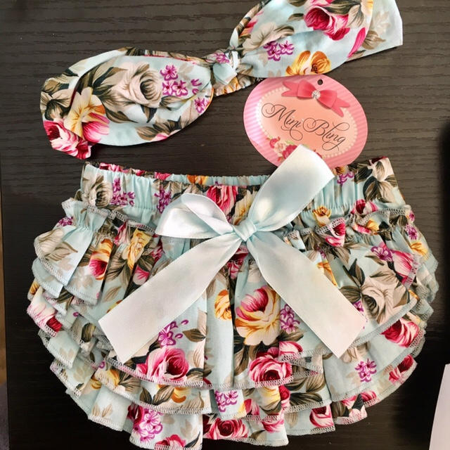 Baby bloomers - not so pink