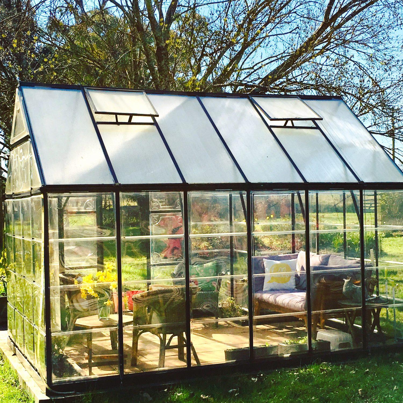 My sun room in the garden
