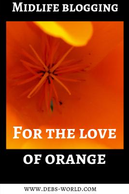 For the love of orange