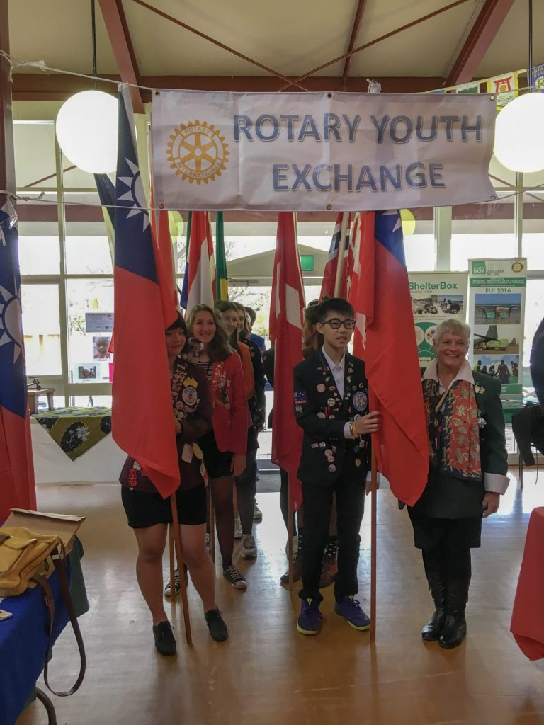 Rotary Youth Exchange students