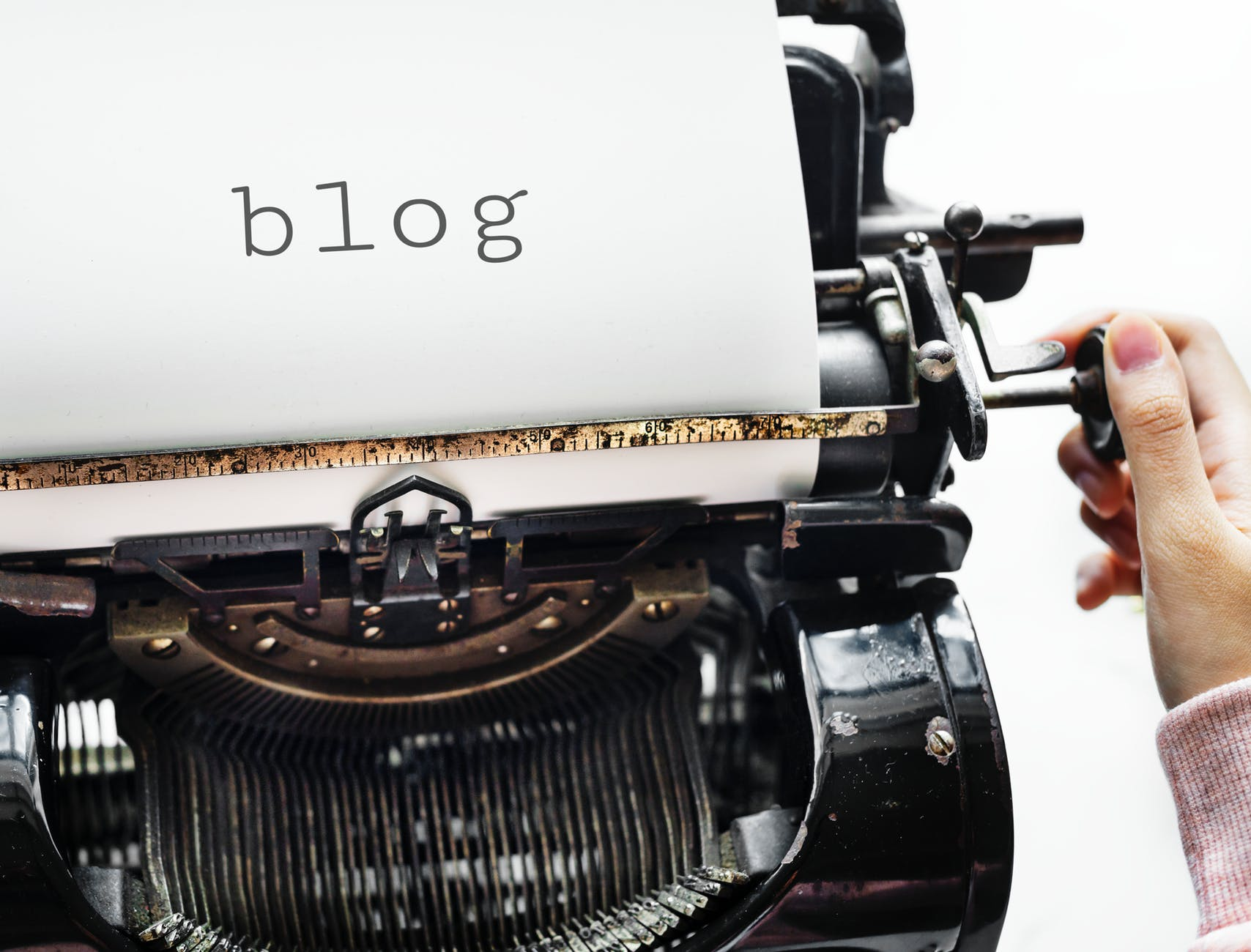 Blogging And Social Media - cover