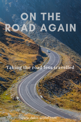 On the road again, taking the road less travelled