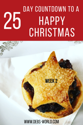 25 day countdown to a Happy Christmas week 2
