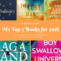 My Top Five Favourite Books this year - with a surprise twist!