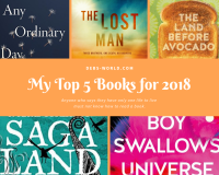 My top 5 books for 2018