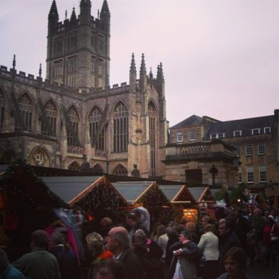 Christmas Market in Bath UK