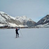 A white Christmas in Livigno in the Italian Alps with the family