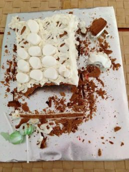 Gingerbread House - or what's left of it