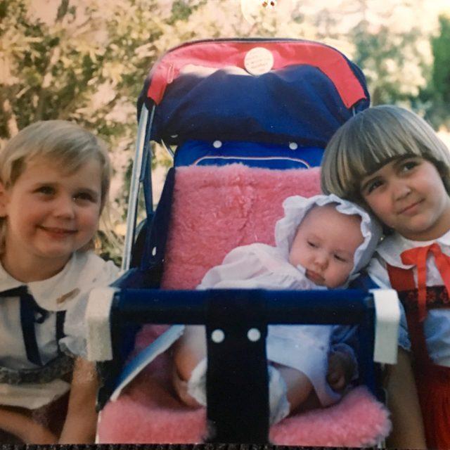 3 girls in 1988