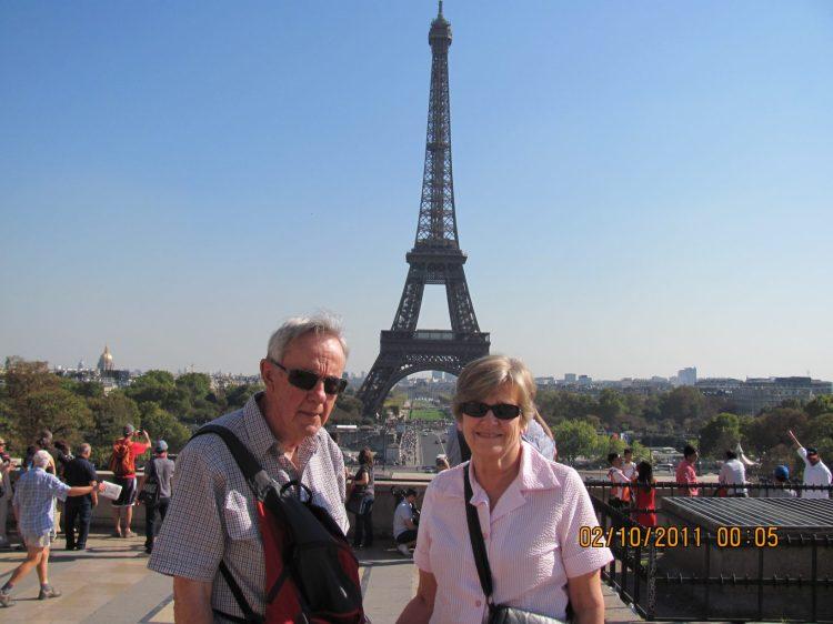 Mum and Dad in Paris 2011