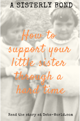 how to support your sister
