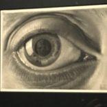 Eye with Skull by Escher