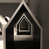 zooming houses by Oki Santo
