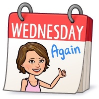 Wednesday again bitmoji