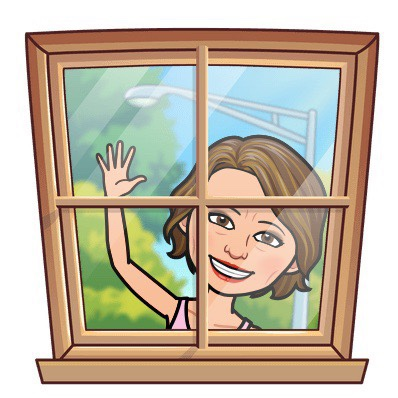 Me at the window