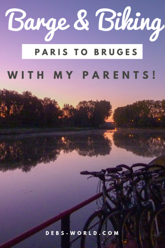 Cycling tour from Paris to Bruges, with my parents in their 70s and dad with Parkinson's Disease