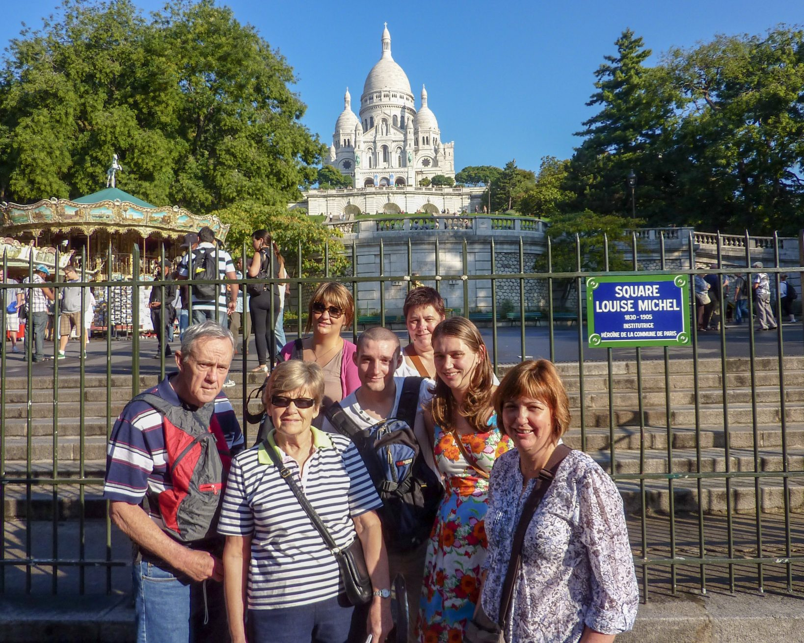 Family in Paris