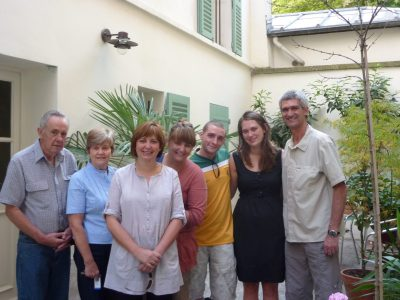 Saying goodbye in Paris 2011