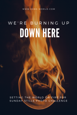 We're burning up down here, photo challenge for Sunday Stills