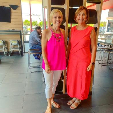 Colourful Bloggers Sue and Debbie